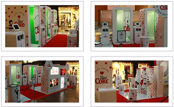 Diet Coke Experiential Mall tour