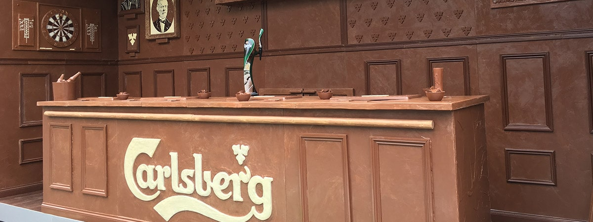 Experiential event - Carlsberg Chocolate Bar