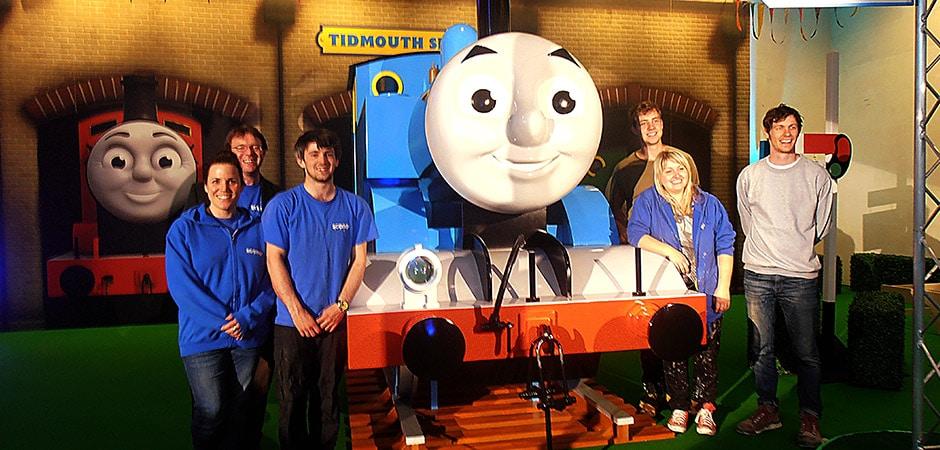 Thomas the tank engine team photo