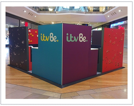 ITV - Experiential stand and tour
