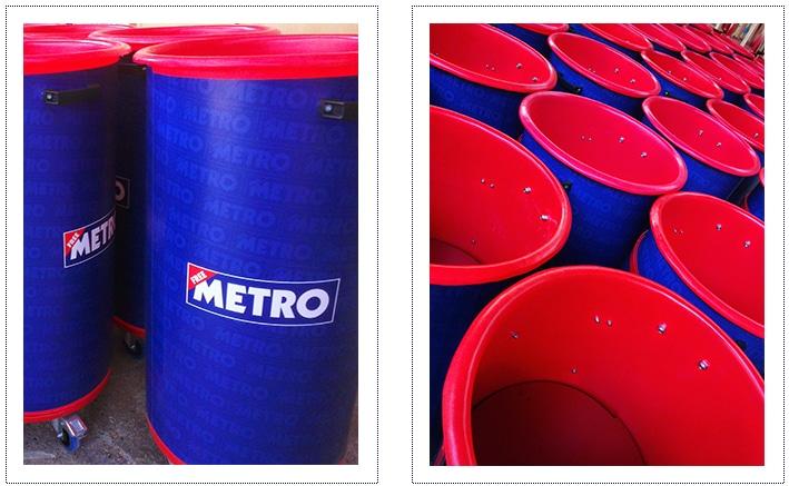 Sampling Bins - Metro