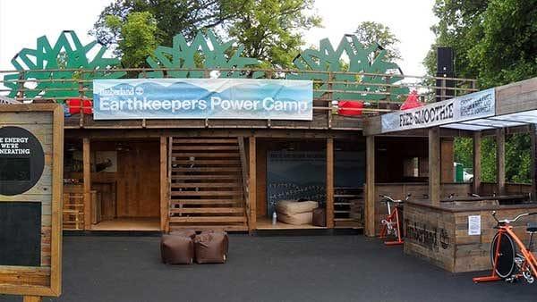 Timberland Festival Installation Timelapse
