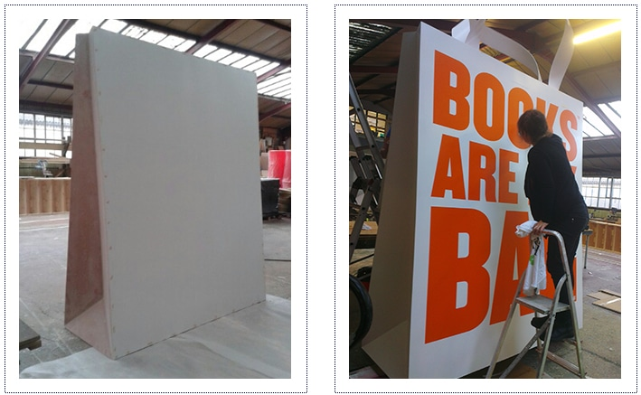 The book sellers association - giant bag