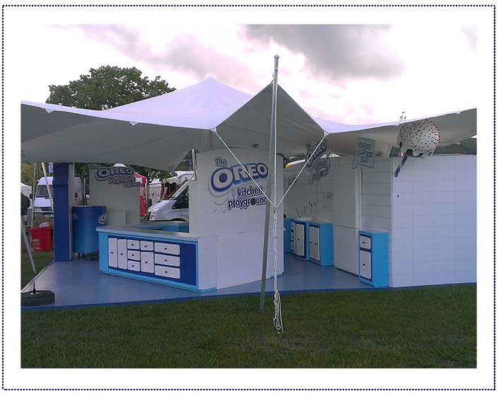 hire stretch tent