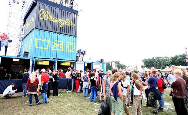 WRANGLER JEANS AT LOWLANDS FESTIVAL